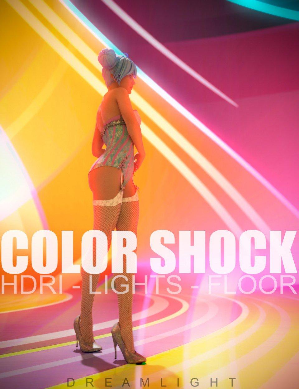 Color Shock in Vendor, Dreamlight,  3D Models by Daz 3D