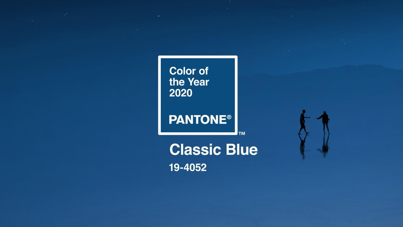 Pantone's 2020 Color of the Year is Classic Blue.
