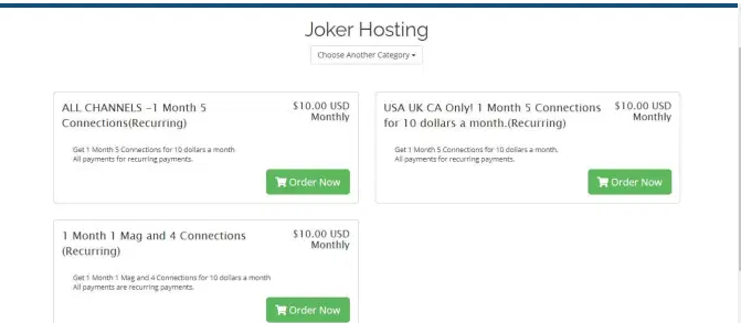 How to Signup for Joker IPTV Monthly Subscription