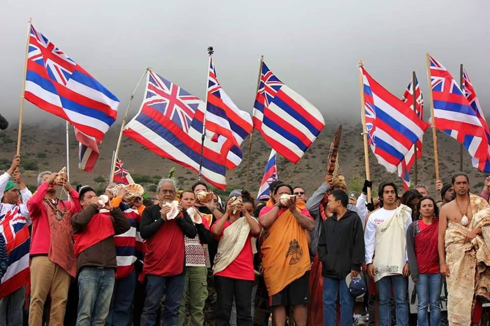 Image result for mauna kea protest