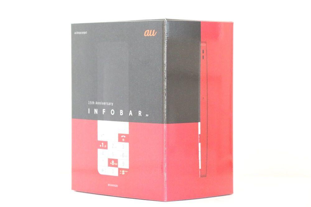 INFOBAR xv box