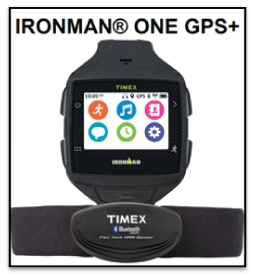 TIMEX® IRONMAN® ONE GPS+ smartwatch is now available for ...