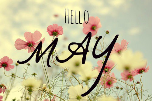 Welcome May, the month of bright sunlight and colorful flowers.