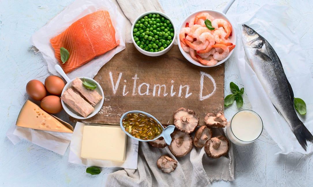 Thực phẩm chứa Vitamin D