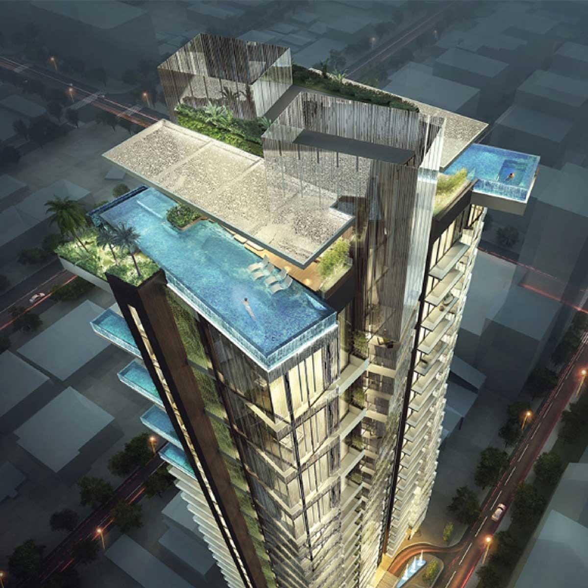Những thiết kế cao tầng làm nên diện mạo mới