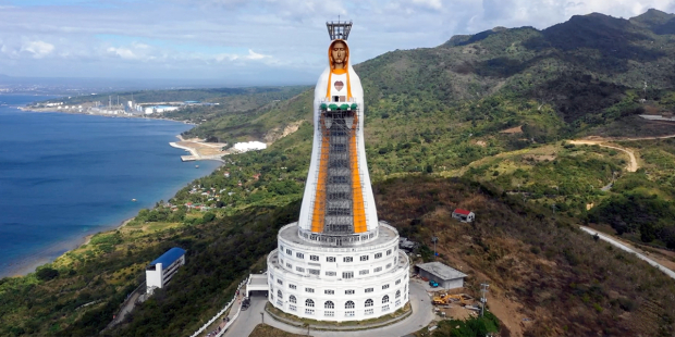 Tượng Mẹ Maria Đồng Trinh cao nhất thế giới sắp được hoàn tất ở Philippines