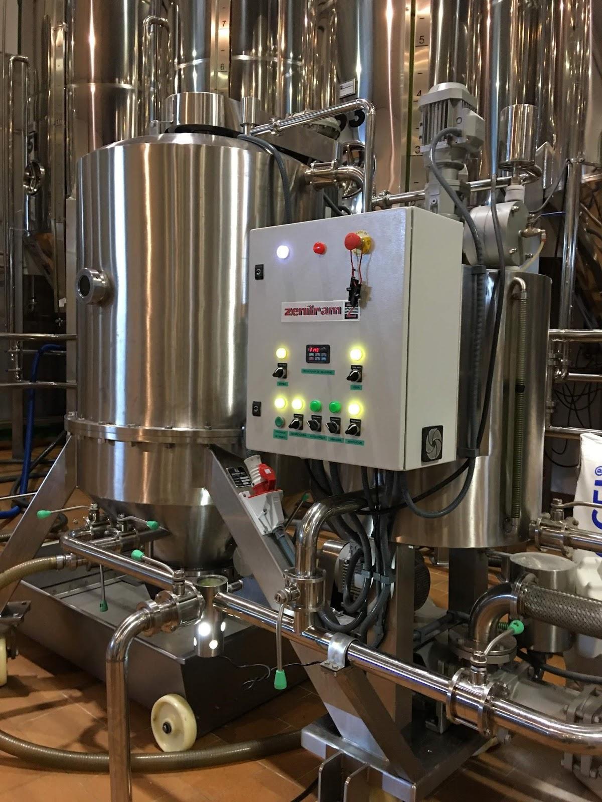 Proceso de filtrado aceite de oliva