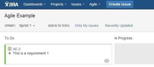 JIRA Agile Work mode