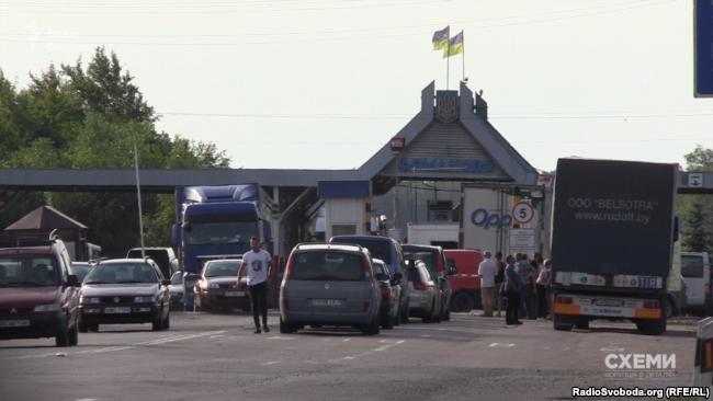 «Схеми» стали свідками незаконної махінації з «євробляхами» на пункті пропуску «Доманове»