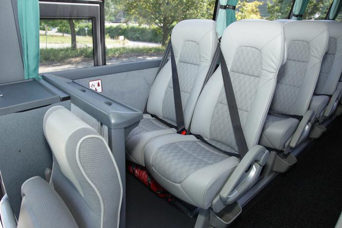 Confort de un bus de Tepsa.
