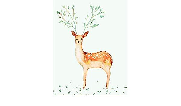 Image result for deer oil painting small size