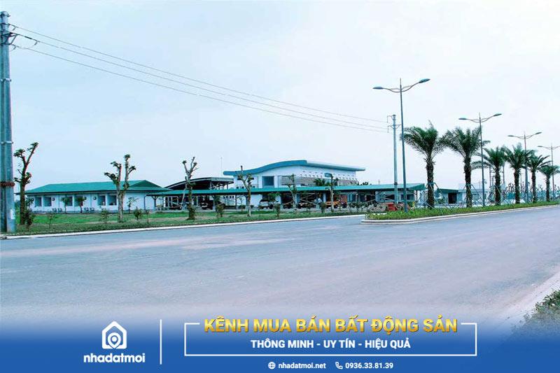 địa chỉ Khu công nghiệp Hòa Xá Nam Định