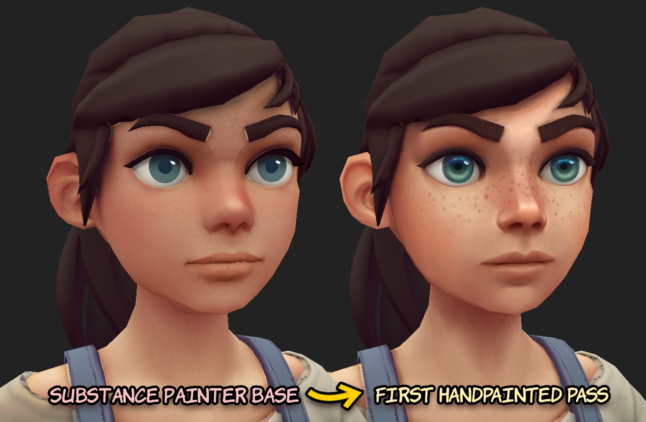 How to Create Your Own Hand-Painted 3D Characters