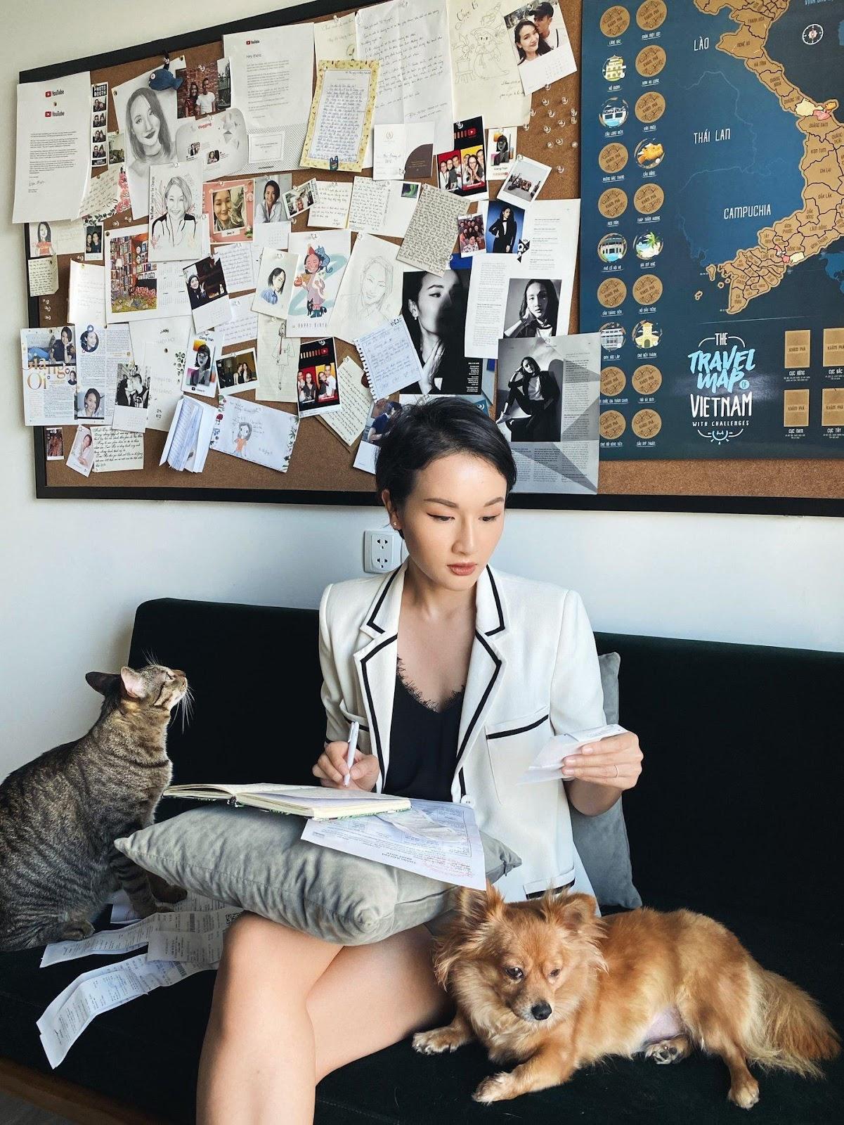 Đây là 3 điều Giang Ơi học được khi nuôi chó mèo: Trách nhiệm sống, thái độ  sống và trân trọng những gì mình đang có