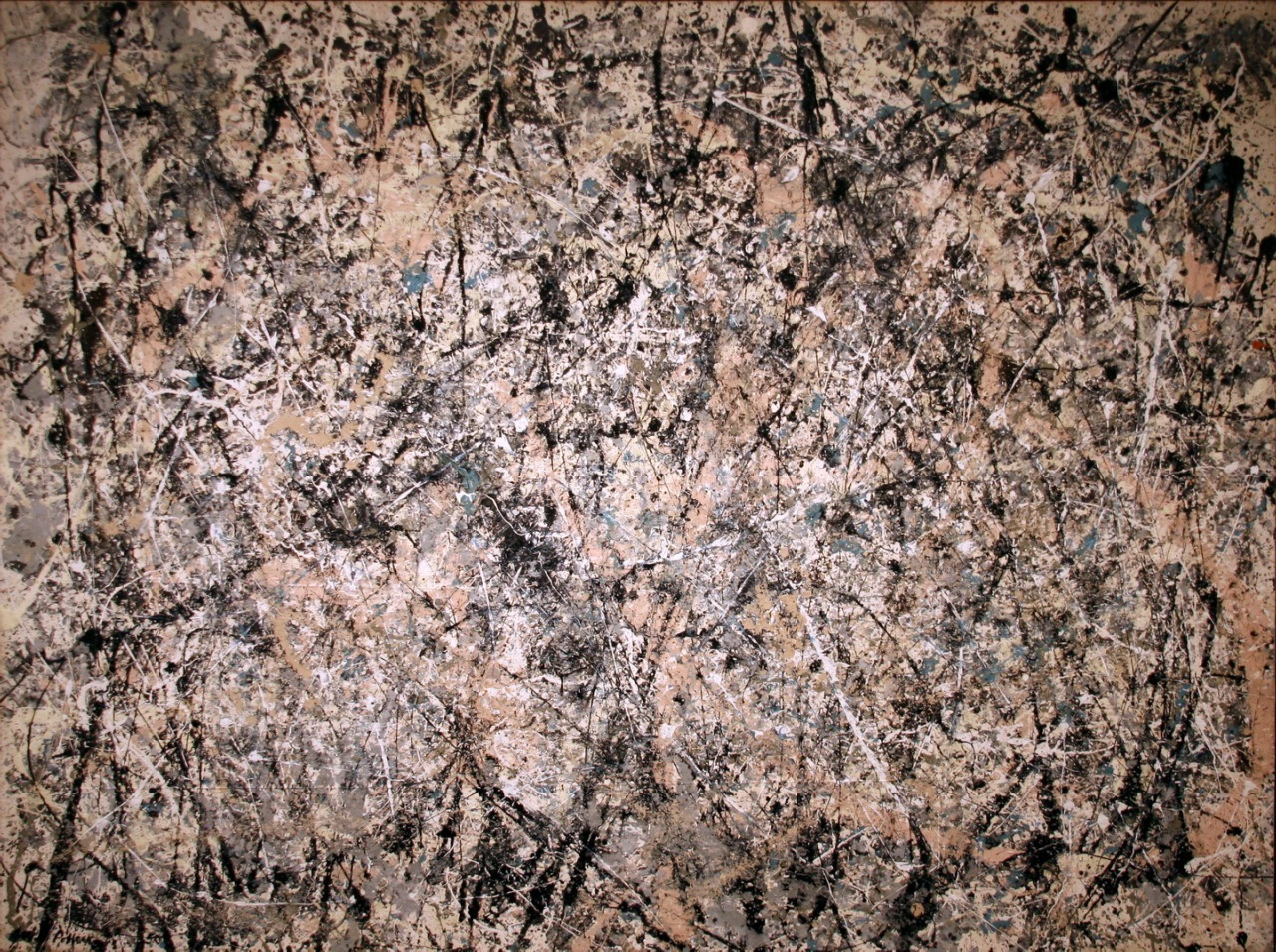 why do we hang jackson pollock s paintings literary ramblings number 1 1950 lavender mist jackson pollock 1950