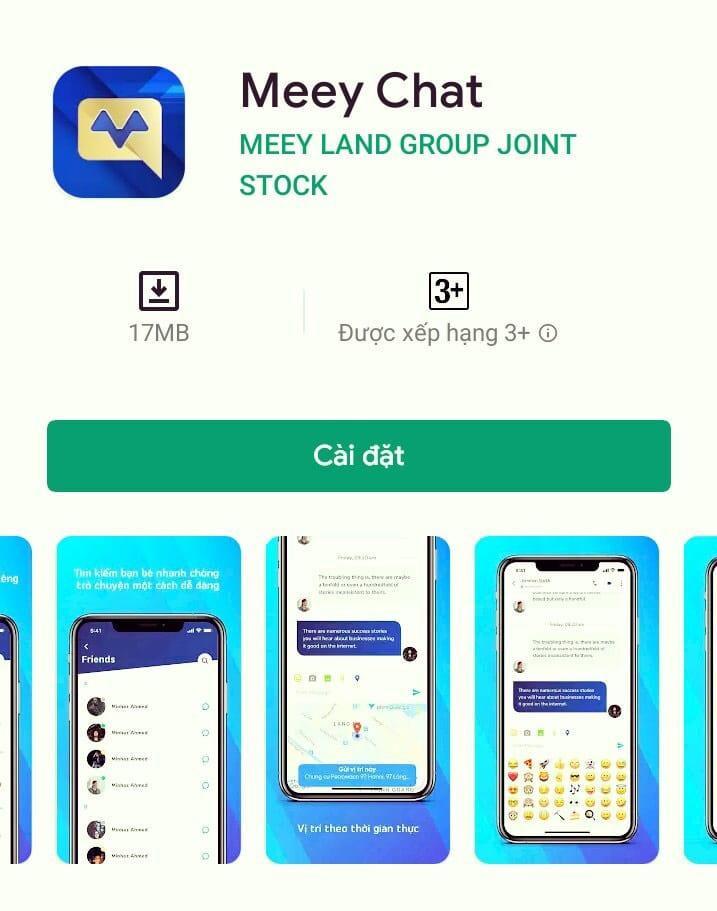 Ứng dụng MeeyChat có mặt ở mọi nơi trên hệ sinh thái bất động sản Meeyland