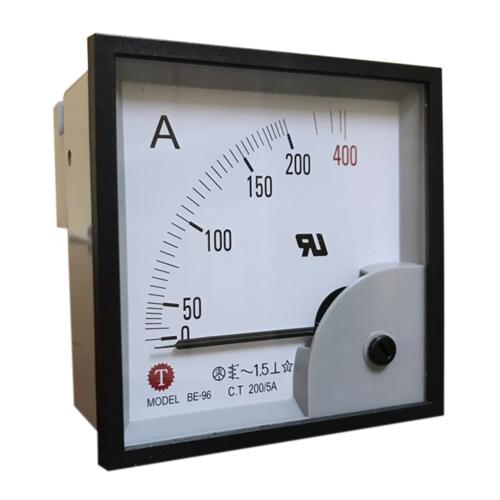 Đồng hồ đo dòng điện (Ampe kế) BE-96 200/5A Taiwan Meter