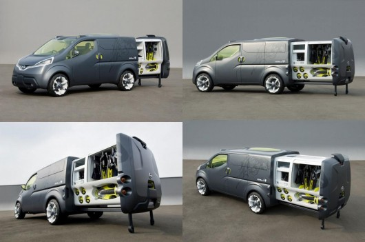 Just as Nissan's NV200 concept (pictured above) was exactly that, transforming an existing...
