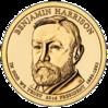 Benjamin Harrison dollar