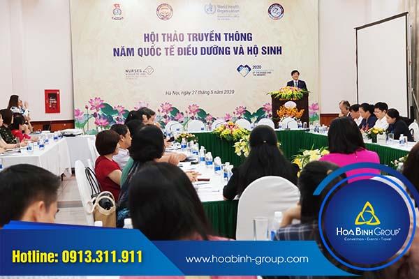 Hội thảo do Hòa Bình Group tổ chức