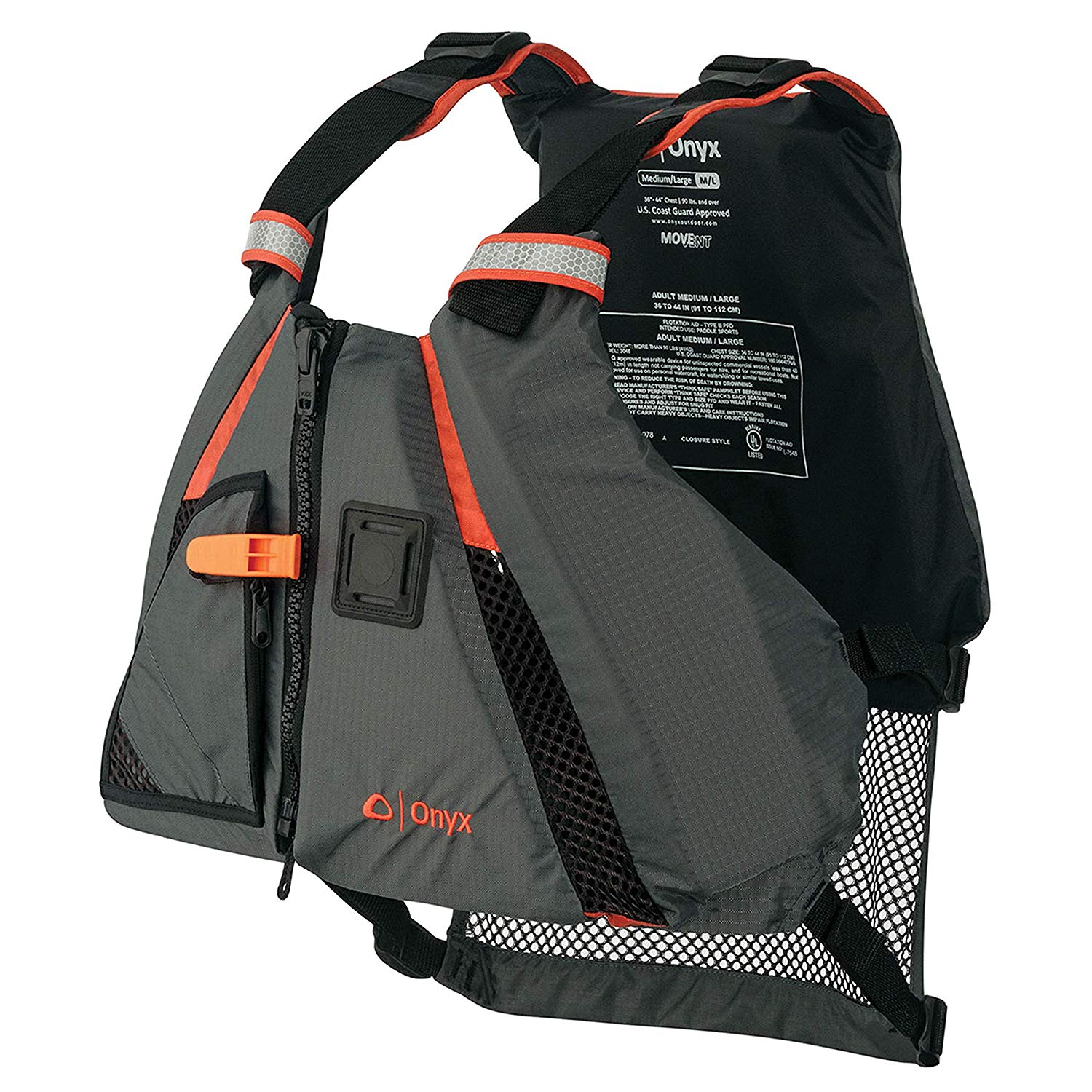 A top-rated life vest by Onyx, as found on Amazon.