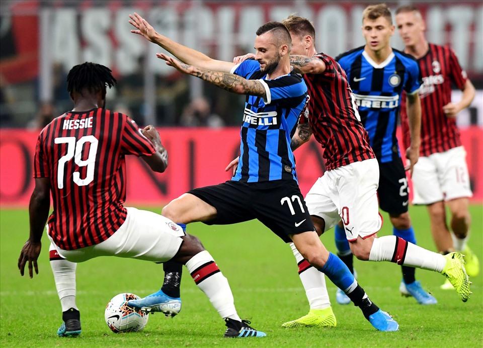 Trận Derby giữa Inter Milan và AC Milan cũng rất hấp dẫn