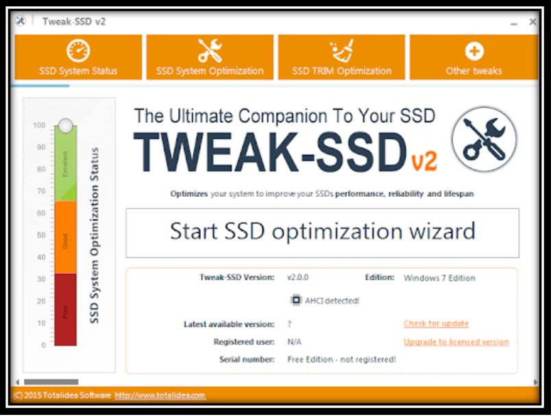 Tweak SSD Image
