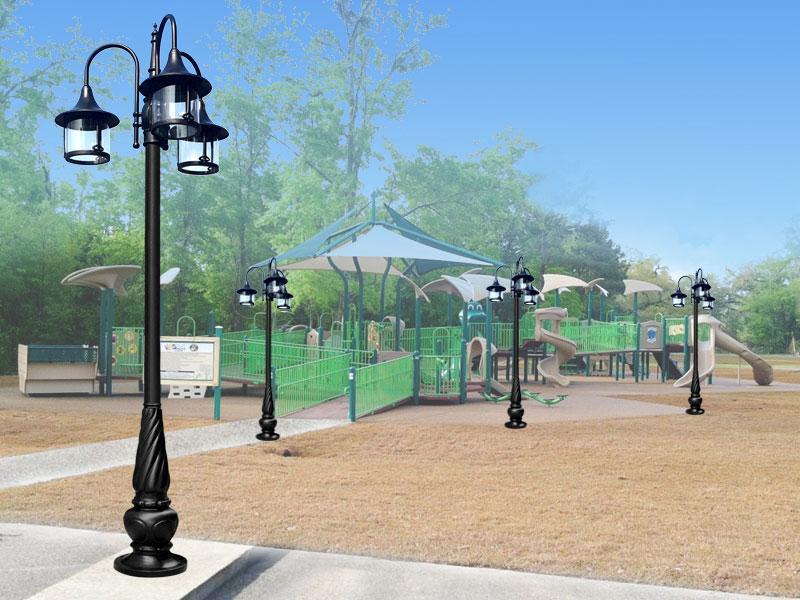 Kết quả hình ảnh cho lưu ý khi lựa chọn cột đèn sân vườn phan nguyễn
