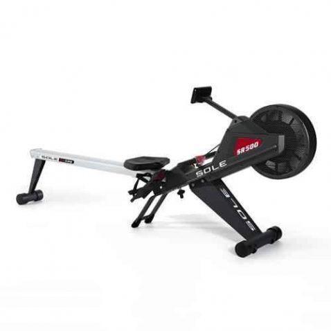 sole sr500 folding rowing machine