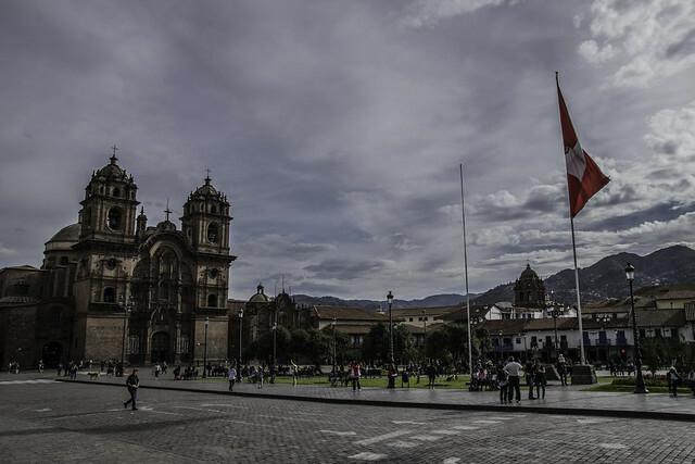 Plaza de Armas, donde se realiza el Inti Raymi