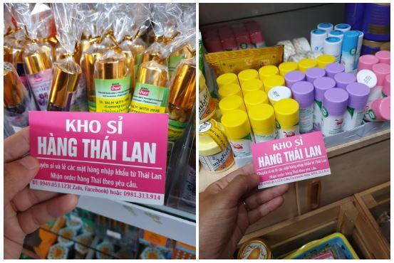 Hàng xách tay Thái Lan