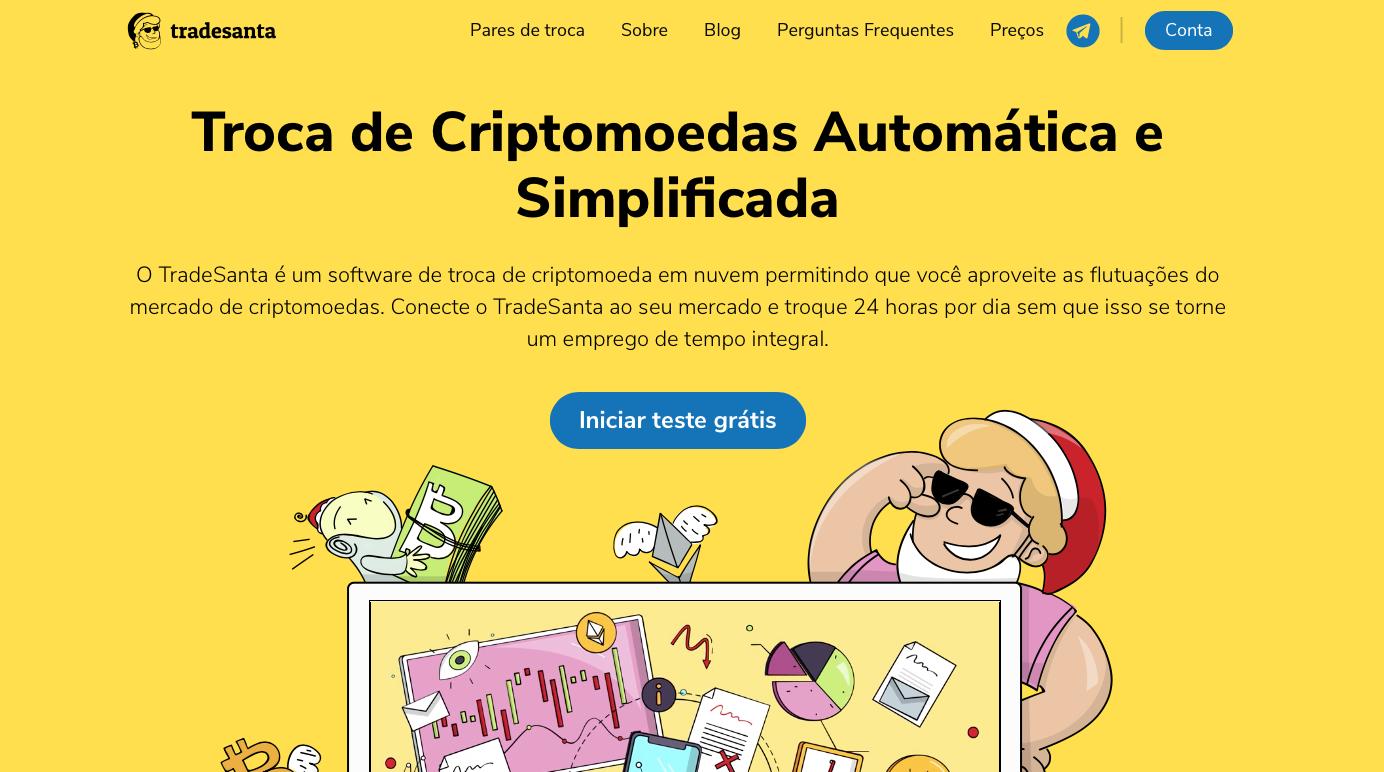 Troca de Criptomoedas Automática e Simplificada