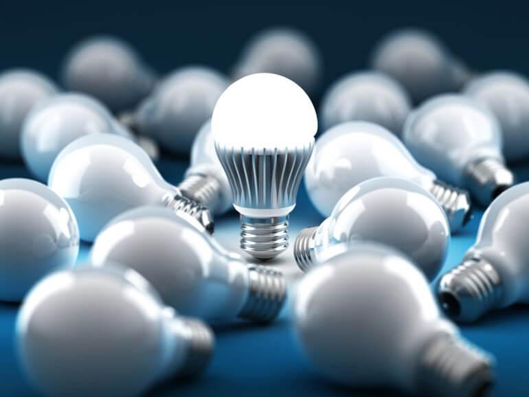Đèn LED hoạt động hiệu quả hơn và tiết kiệm điện năng hơn các loại đèn khác