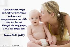 Image result for Isaiah 49 : 15