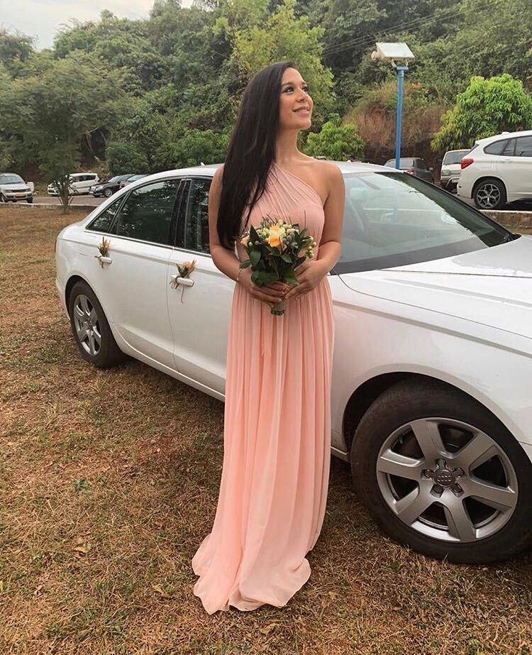 krishna shroff in wedding dress