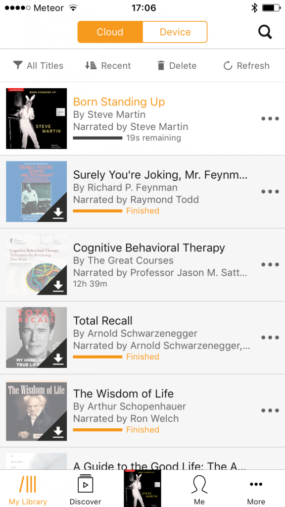 Audible books