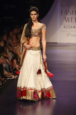 bridesmaid dress at Indian fashion week