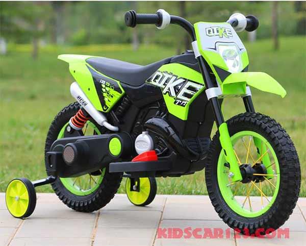 Xe máy điện trẻ em - Rock 305 xanh lá