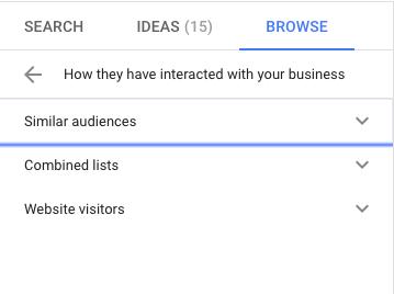 Подобни аудитории в google ads