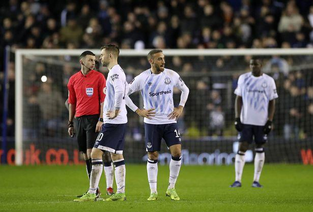 Image result for everton lose millwall