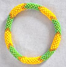 Rollover Glass Bead Bracelet
