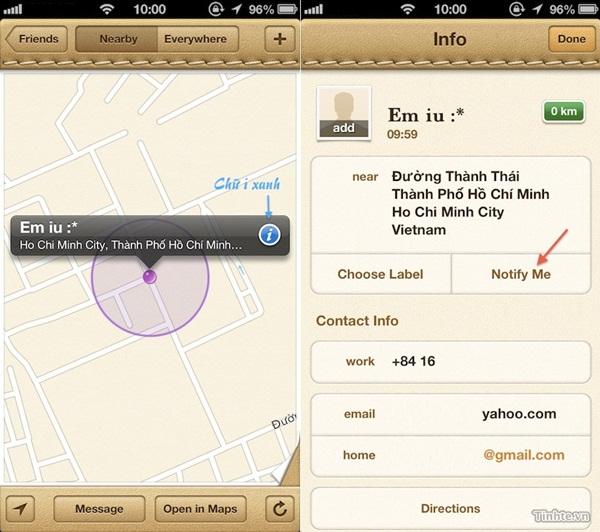 hướng dẫn cách sử dụng định vị iPhone 2