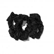 Slip Silk Large Scrunchies 'Black'