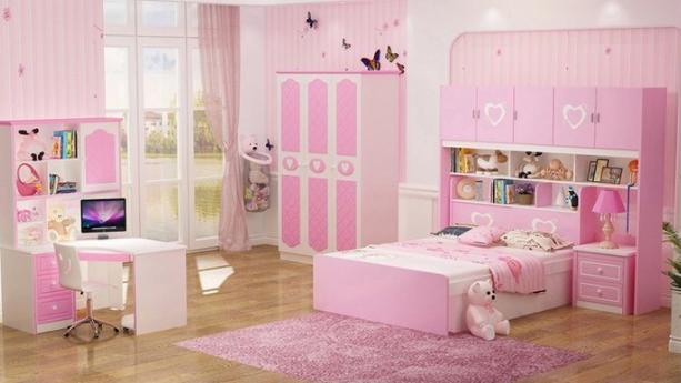 Lựa chọn giường ngủ đẹp cho bé gáinên chú ý đến nội thất không gian cho phù hợp