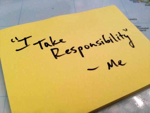 The Challenge of Taking Responsibility – Joshua N. Hook