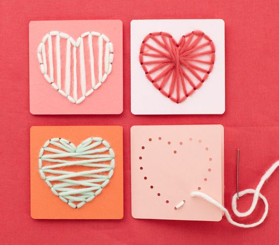 14 Fast and Easy Valentine Crafts – Easy Valentine Cards for Kids