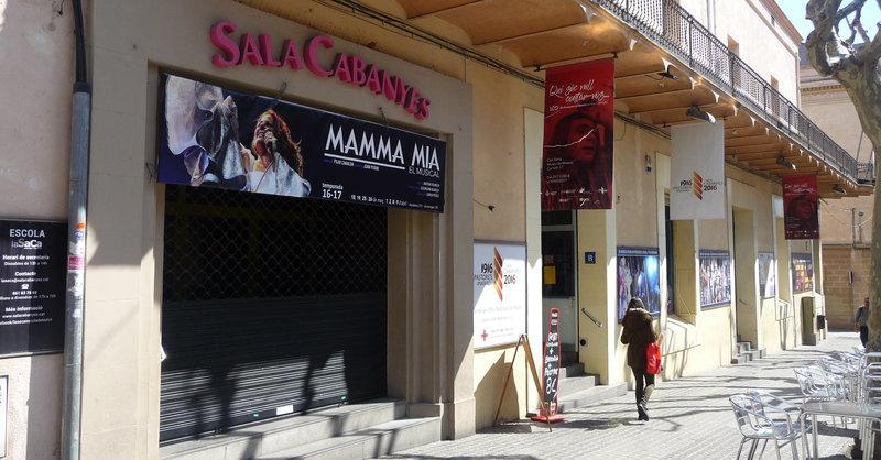 La Sala Cabanyes abaixarà el teló uns mesos per obres | Lluís Martínez |  mataró | Societat | El Punt Avui