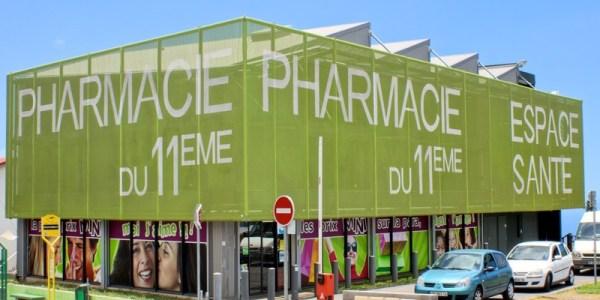 Pharmacie du 11ème réalisation Atelier du Store
