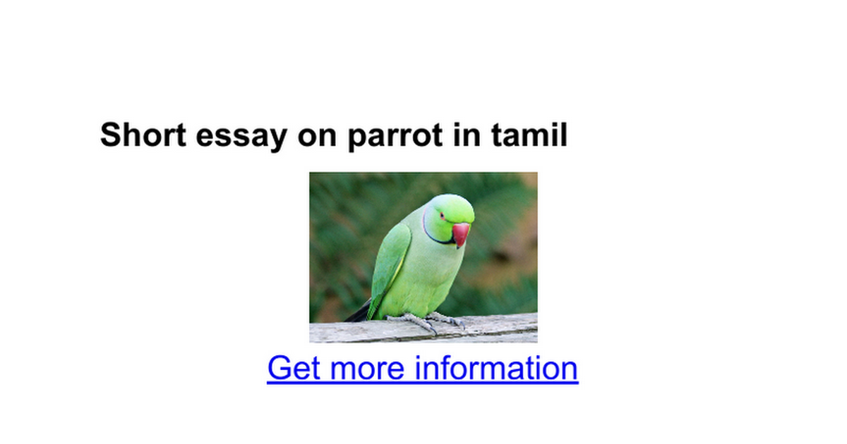autobiography of bird parrot in gujarati language Parrots, also known as psittacines /ˈsɪtəsaɪnz/, are birds of the roughly 393  species in 92  sayings about parrots colour the modern english language   most captive-born birds do not possess the necessary survival skills to find food  or.