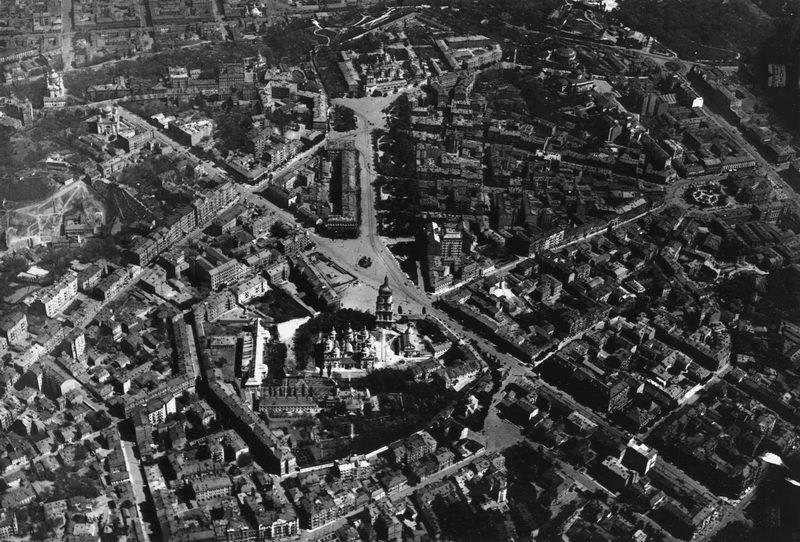 Німецька аерофотозйомка Києва в 1918 році
